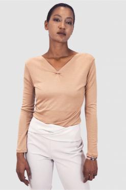 Langarm Top, wool top, wool sweater, light sweater, wolle bluse