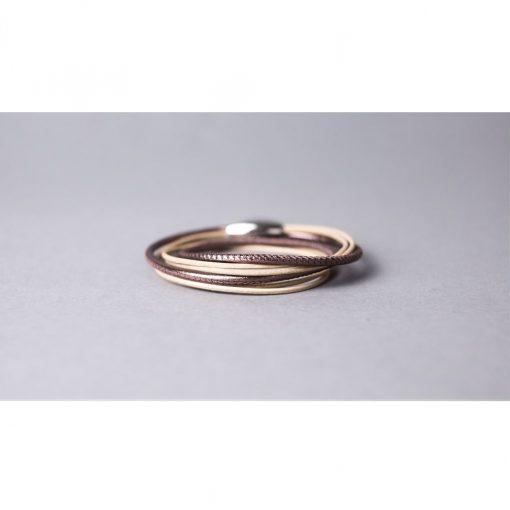 Damenarmband aus feinem Nappaleder