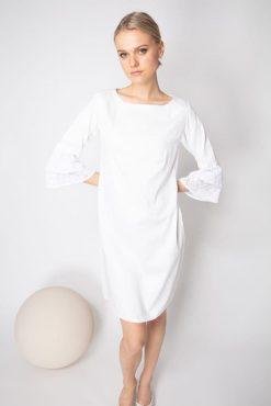 white summer dress